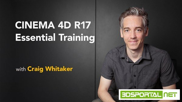 CINEMA 4D R17 Essential Training