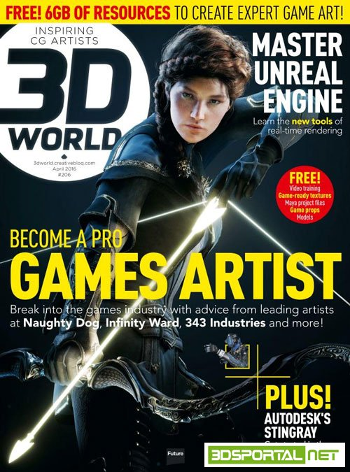 3D World - April 2016