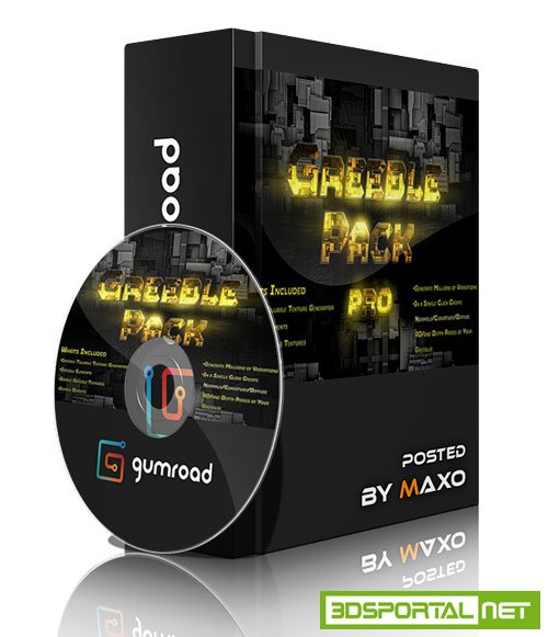 Gumroad – Greeble Pack Pro for Zbrush