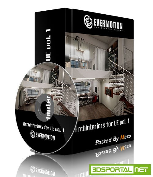 Evermotion - Archinteriors for UE4 vol. 1