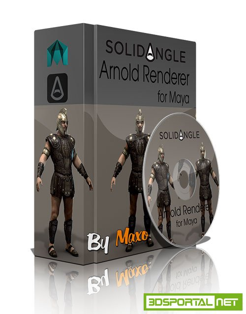 SolidAngle Maya to Arnold v1.4.2.1 for Maya 2015 to 2017 Win/Mac/Lnx