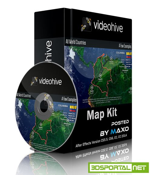 Videohive - Map Kit