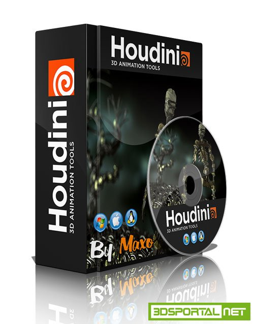 SideFX - Houdini 15.5.480 vc14 Win/MacOSX/Linux