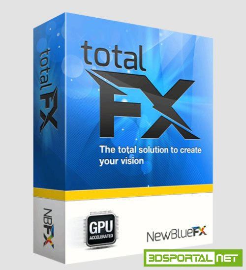 NewBlueFX TotalFX 3.0 build 160320 CE for After Effects and Premiere Pro Win