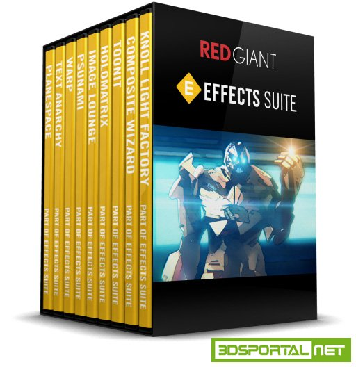 Red Giant Effects Suite 11.1.9 Win