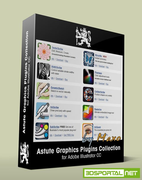 Astute Graphics Plug-ins Bundle 1.1.6 for Adobe Illustrator + Pro Texture Packs Win