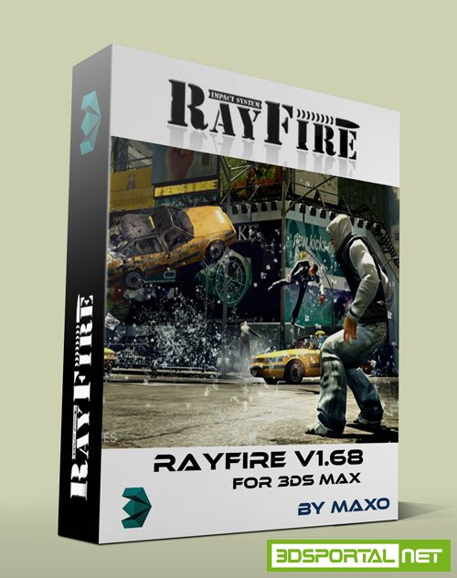 RayFire 1.68 for 3ds Max 2014 - 2017 Win