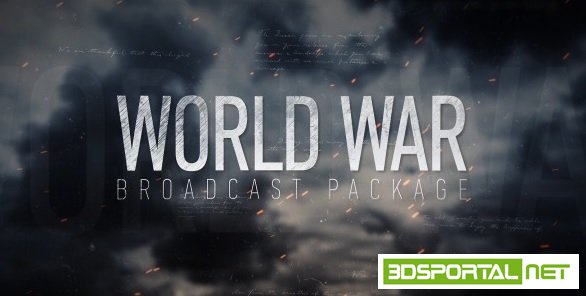 VideoHive - World War Broadcast Package