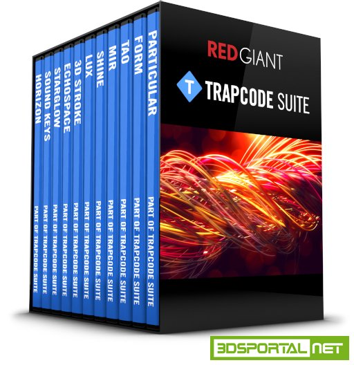 Red Giant TrapCode Suite 13.1.0 Win/Mac