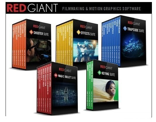 Red Giant Complete Suite 2016 for Adobe CS5 - CC 2015.5 August 2016 Update Win/Mac