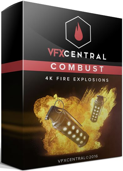 VfxCentral - Combust 4K Fire Explosions Pack