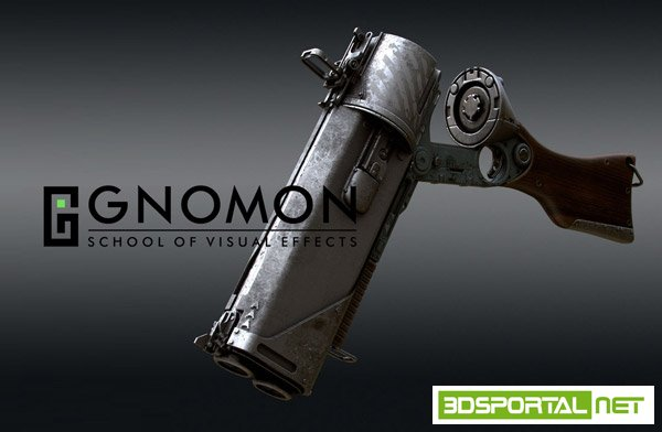 The Gnomon Workshop - Creating a Gun in Modo with Tor Frick