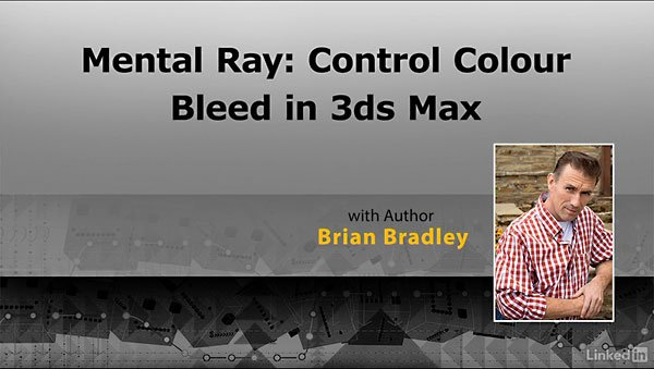 Mental Ray: Control Color Blee ...