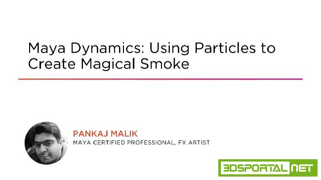 Maya Dynamics: Using Particles ...