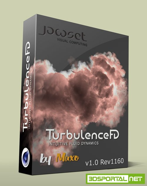 TurbulenceFD C4D v1.0 Build 1401 for Cinema 4D Win