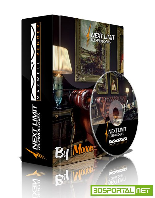 NextLimit Maxwell Render Studio 4.0.0.18 Win/Mac