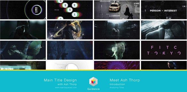 Learnsquared - Main Title Design - Part 1 Analyzing Titles