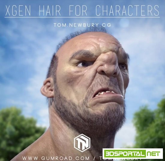 Gumroad – Xgen Hair for Characters