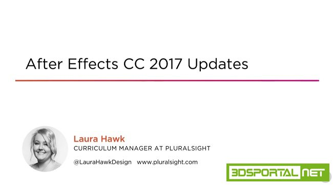After Effects CC 2017 Updates