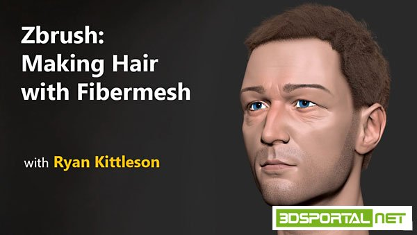 ZBrush: Making Hair with Fiber ...