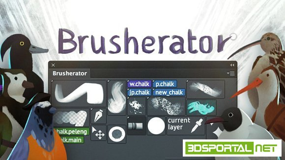 Brusherator 1.2 Plug-in for Ad ...
