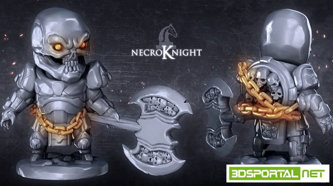 Sculpting the Necroknight with ...