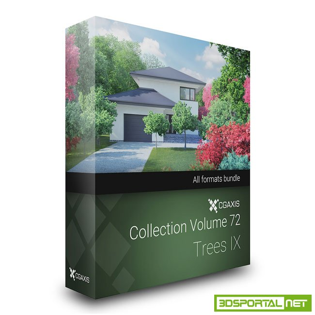 CGAxis Models Volume 72 - Tree ...