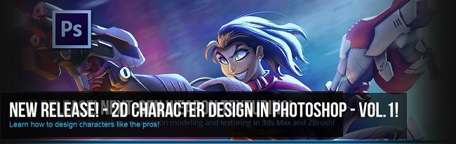 Character Design in Photoshop Volume 1
