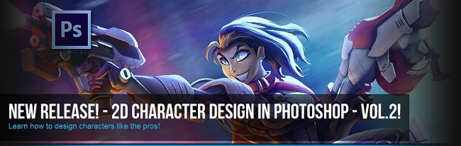 Character Design in Photoshop Volume 2