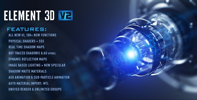 Video Copilot Element 3D v2.2. ...
