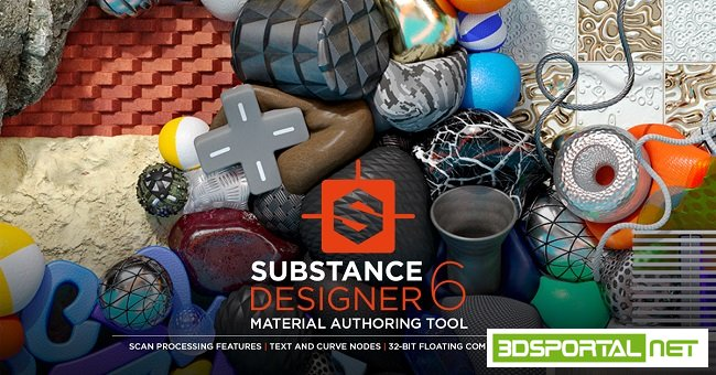 Allegorithmic Substance Designer 6.0.3.181 Win