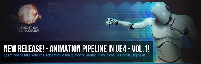 Animation Pipeline in UE4 Volume 1
