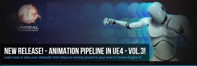Animation Pipeline in UE4 Volume 3