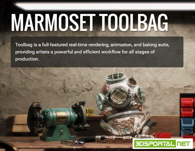 Marmoset Toolbag 3.03 Win