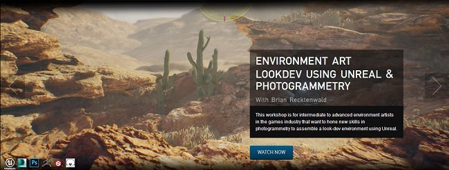 The Gnomon Workshop - Environment Art Lookdev Using Unreal & Photogrammetry