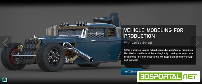 The Gnomon Workshop - Vehicle  ...