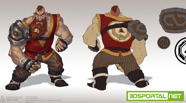 Game Character Concept Design  ...