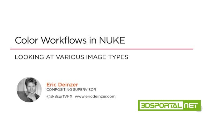 Color Workflows in NUKE