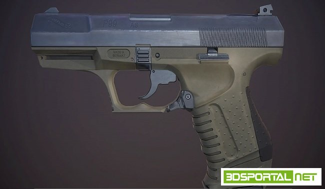 Texturing the Walther P99 Volu ...