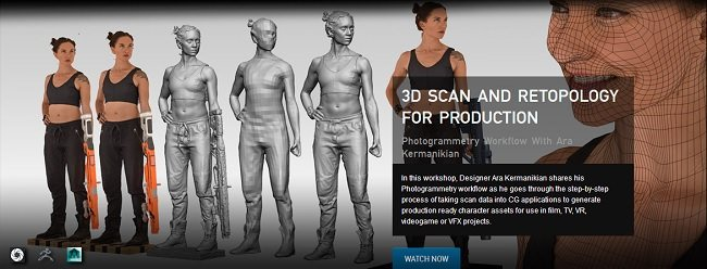 The Gnomon Workshop – 3D Scan  ...