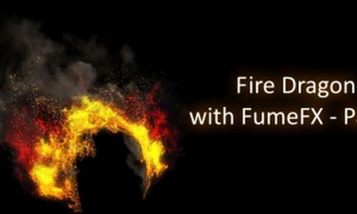 Cgcookie - Creating a Fire Dragon with FumeFX