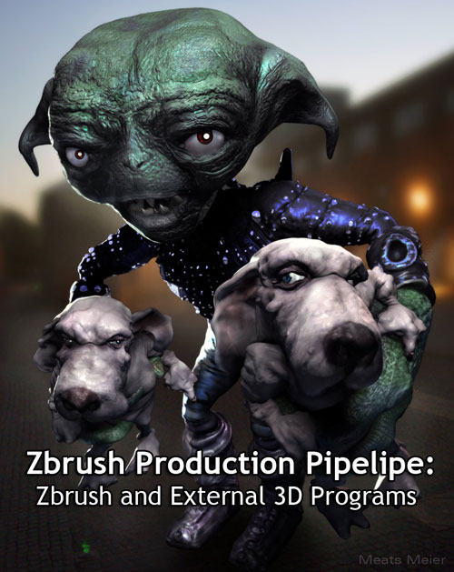 Zbrush Production Pipeline: Zbrush and External 3D Programs