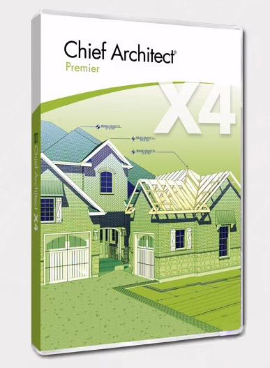 Chief Architect Premiere X4 14.3.2.2 with Libraries