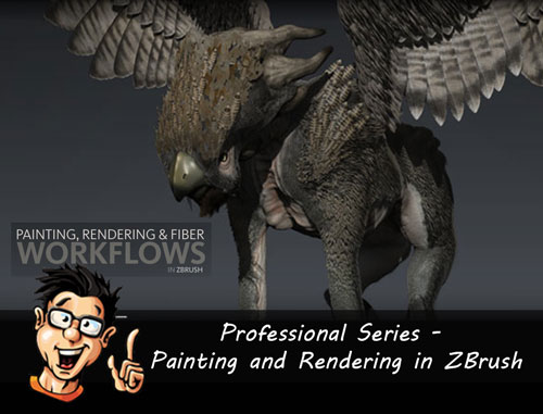 Digital - Tutors - Professional Series - Painting and Rendering in ZBrush