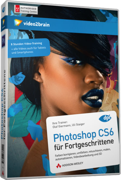 Video2Brain - Photoshop CS6 Advanced – German
