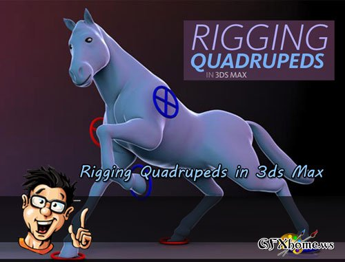 Digital - Tutors - Rigging Quadrupeds in 3ds Max