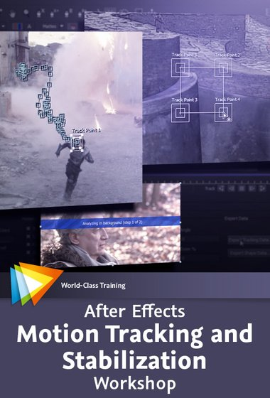 Video2Brain – After Effects Motion Tracking and Stabilization Workshop