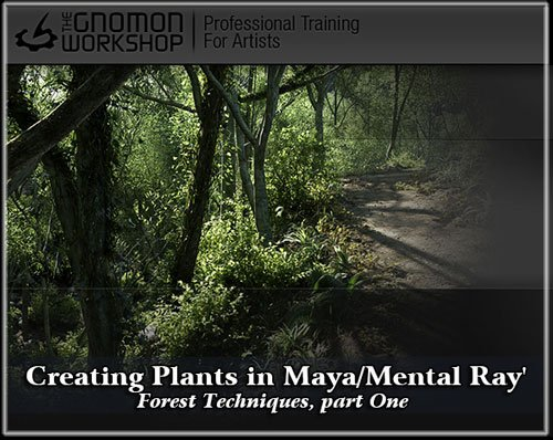 Creating Trees in Maya / Onyx Forest Techniques, part Four