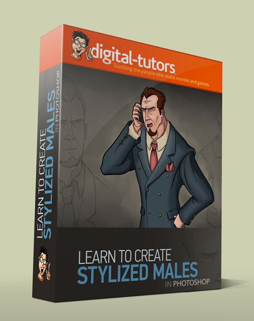 Digital - Tutors - Creating Stylized Male Character Concepts in Photoshop