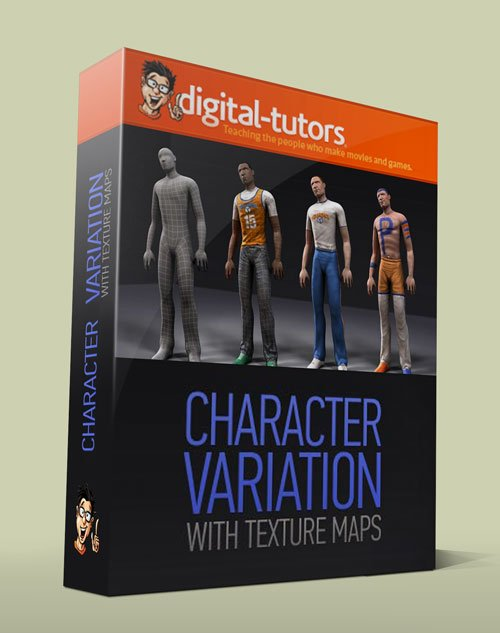 Digital - Tutors - Professional Series: Creating Character Variation with Texture Maps